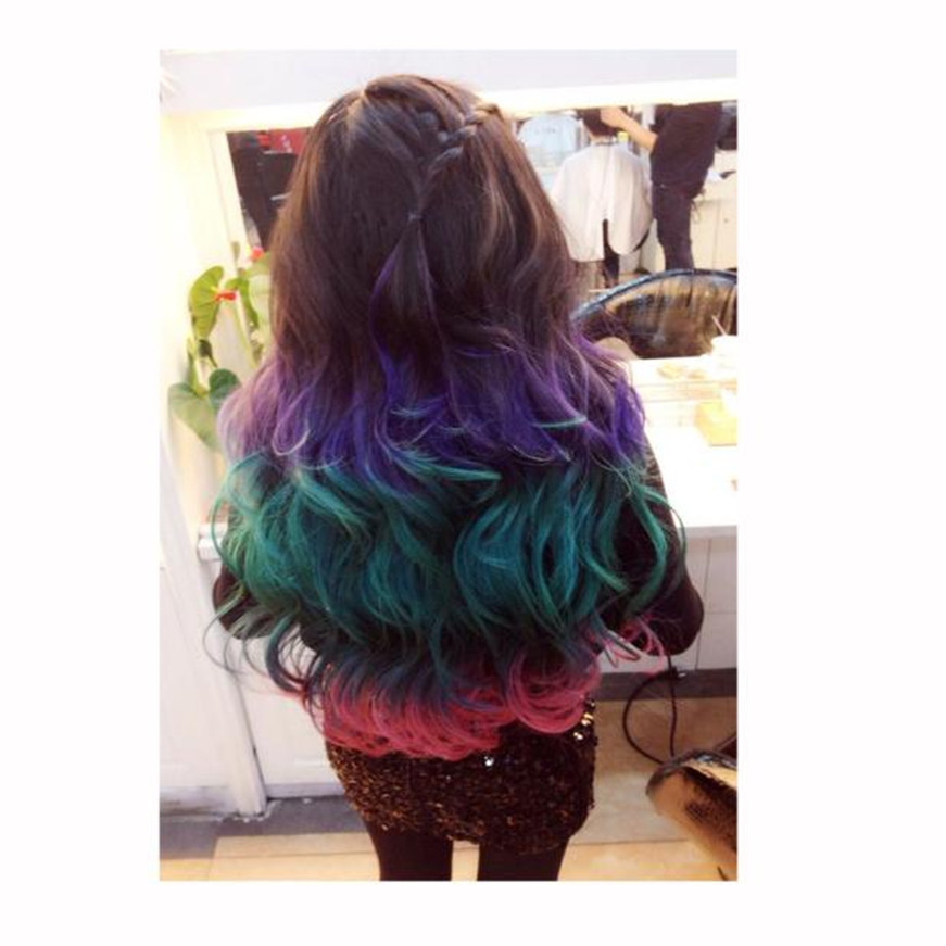 2017 Joyous Original Style Temporary Hair Dying Powder Colorful Hair