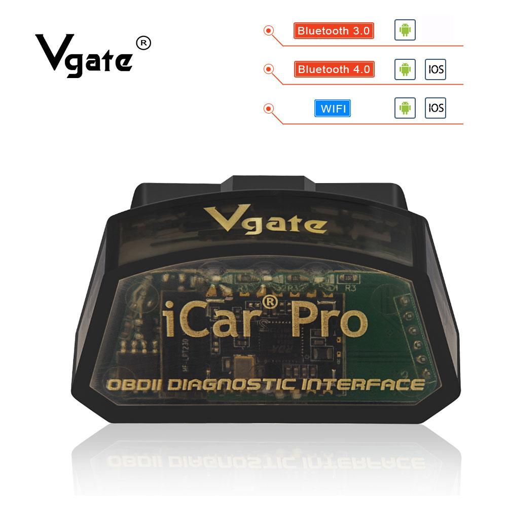 Vgate iCar Pro ELM 327 Bluetooth WIFI OBD2 Scanner car diagnostics elm327 2 1 obd 2 Innrech Market.com