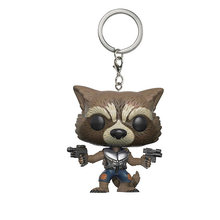 Marvel Movie Guardians of the Galaxy 2 Rocket Rabbit Action Figure Doll Keychain Toy The Avengers 3 hero toy(China)
