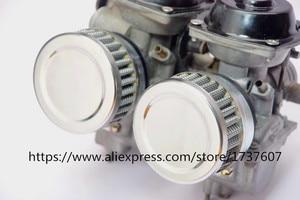 Image 4 - Воздушный фильтр из нержавеющей стали для мотоцикла, 46 мм 48 мм 50 мм 52 мм 54 мм 60 мм, очиститель для SR400 CB550 CB750 Kawasaki KZ650, 1 шт.