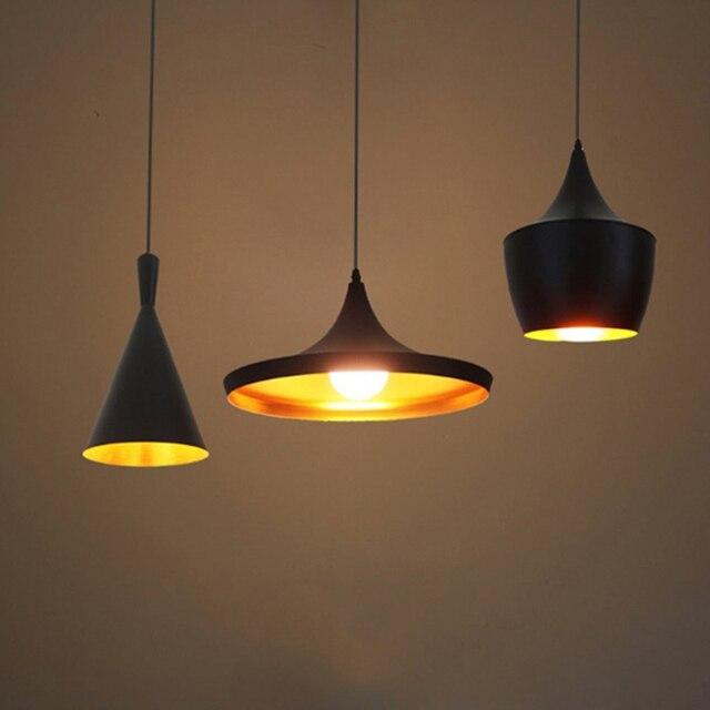 Modern Led Pendant Light Vintage Lamp E27 Base Edison Bulb Home Lighting Fixture Art Deco
