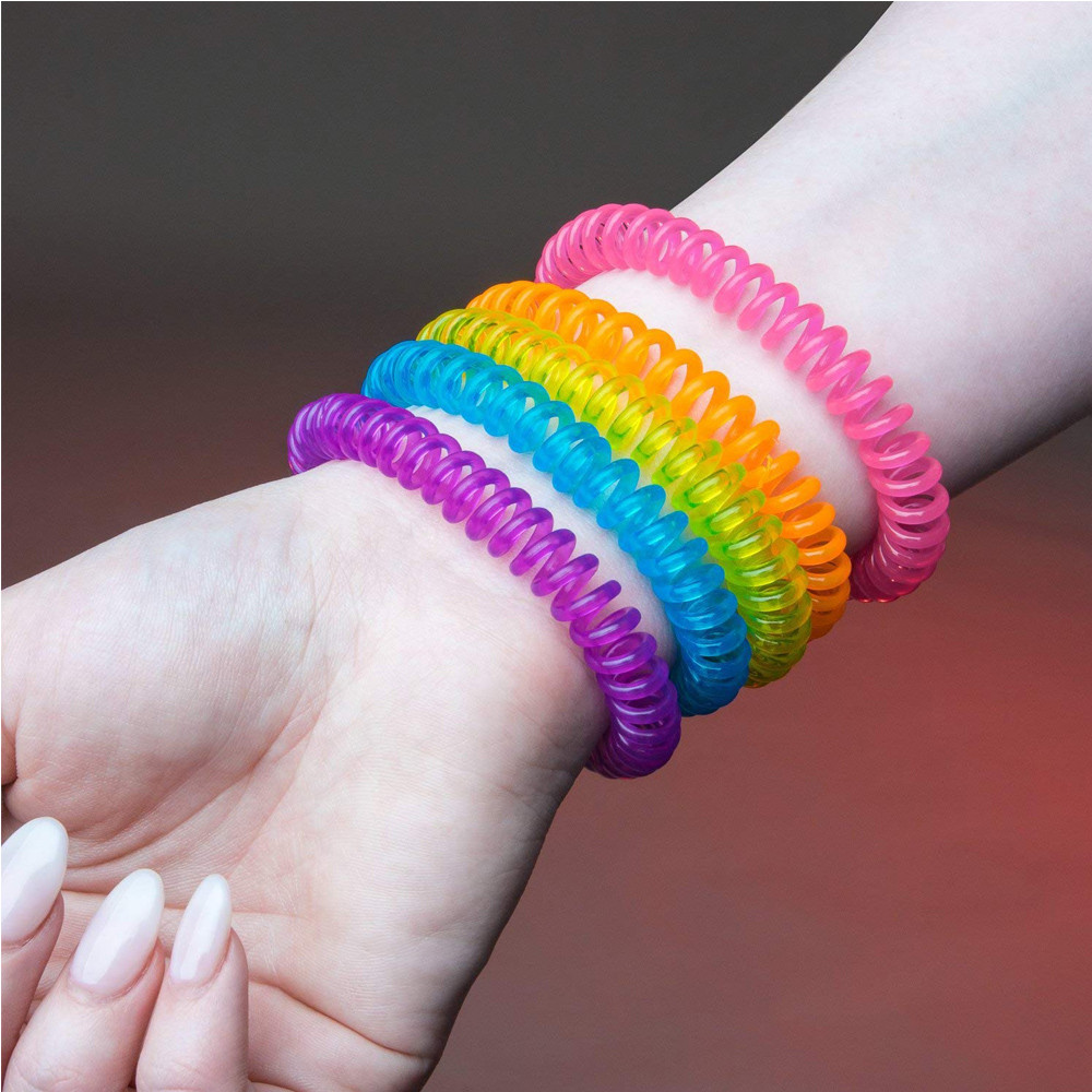 Image 2 - Household 5PCS Mosquito Repellent Bracelets Natural Repellent Wristbands convenient and  practical Household HOT Sale product-in Repellents from Home & Garden