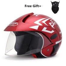 Motorcycle Children Helmet Safety Helmet For Harley Half Helmet Men Women Kid For Outdoor Sports Riding Four Seasons недорого