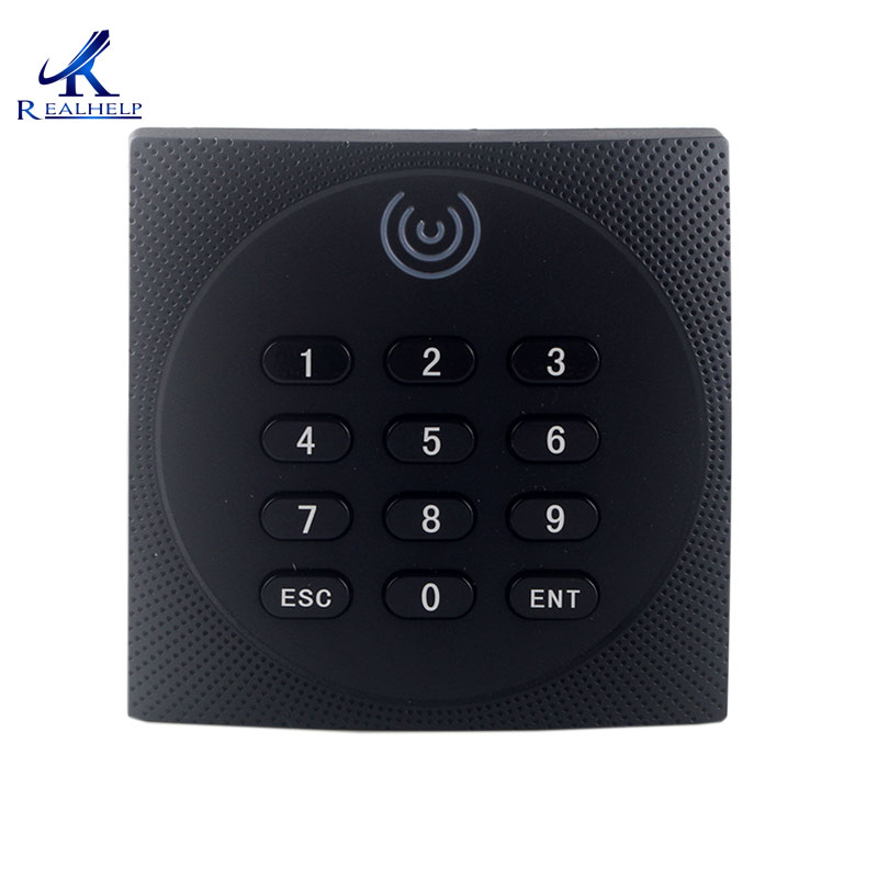 Outdoors Applied RFID reader IP64 Weatherproof ZK KR602 ID IC card reader with keypad RFID Reader 125Khz EM Card Reader id card 125khz rfid reader