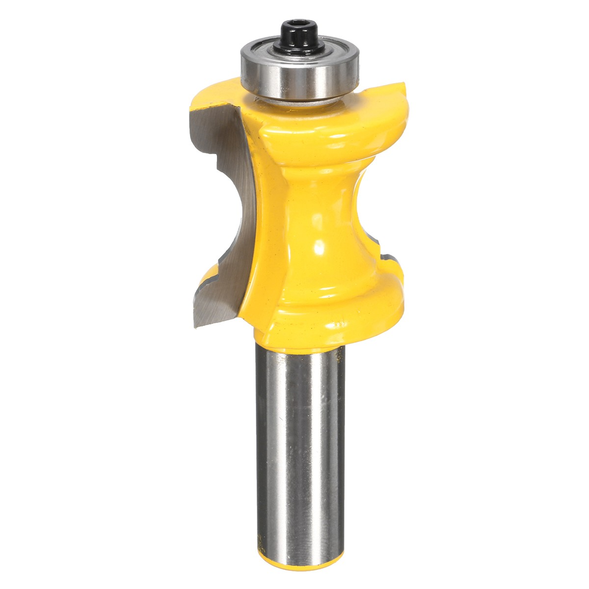 High Quality 1PC Bullnose with Bead Column/Face Molding Router Bit - 1/2 Shank - Yonico 13101 for Woodworking Tools 1 2 shank bullnose bead column face molding router bit alloy woodworking cutter for wood milling machines power tool