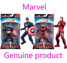 Genuine 3 Infinito Guerra Avengers Marvel Legends Homem De Ferro Capitão América Spiderman Black Panther Thanos Figura de Ação Hulk Brinquedo(China)