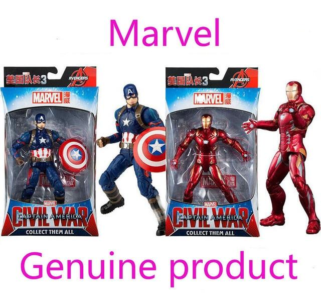 Genuine Avengers 3 Infinity War Marvel Legends Spiderman Black Panther Iron Man Captain America Thanos Hulk Action Figure Toy