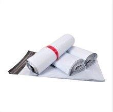 CAMMITEVER 100pcs busta per corriere bianca busta per corriere busta per posta di spedizione buste per buste busta per sigillo autoadesiva