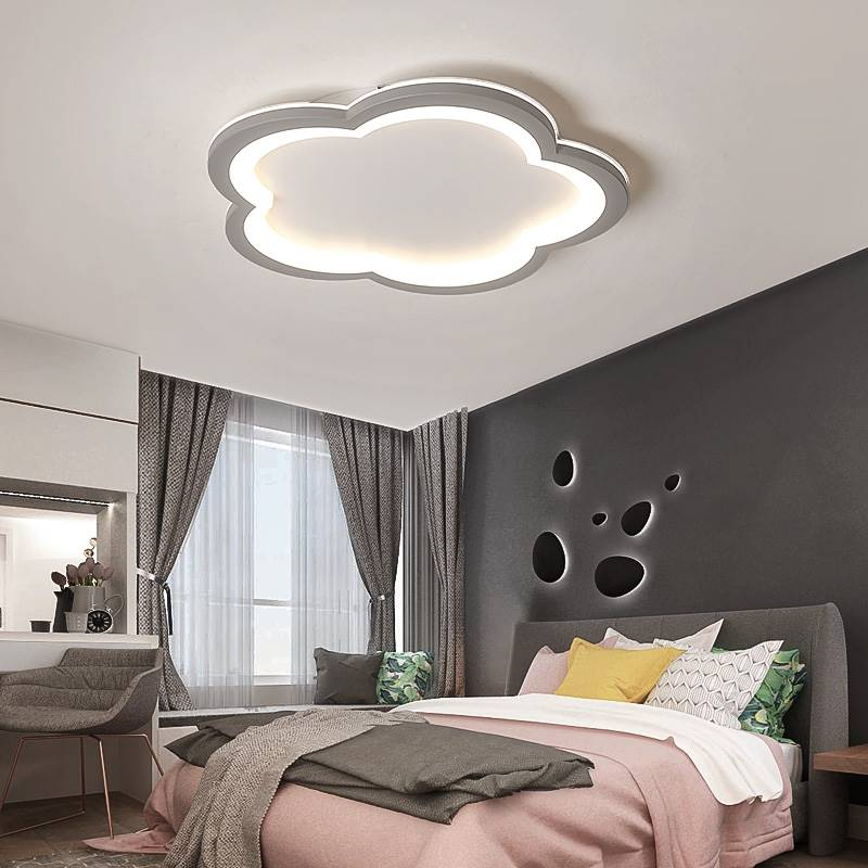 Ultra thin Modern Led Ceiling Lights For Living Room Bedroom Flower Dimmable+RC 110V 220V Ceiling Lamp Fixtures for Kid roomUltra thin Modern Led Ceiling Lights For Living Room Bedroom Flower Dimmable+RC 110V 220V Ceiling Lamp Fixtures for Kid room