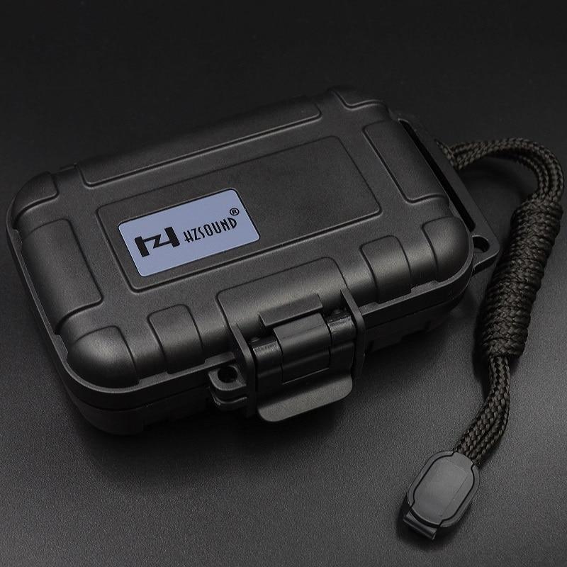bilder für HZSOUND Mehrere Aseismic/wasserdichte kopfhörer fall box tragbare aufbewahrungskoffer headset fall box Headset lagerung paket