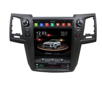 IPS 6 Core PX6 Android 8.1 Tesla style 12.1 Car DVD Player for Toyota Fortuner 2005 2016 Bluetooth 5.0 WIFI GPS Stereo Radio