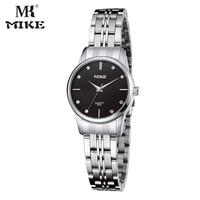 MK Mike Simple Watch Male Female Couple Wrist Watch Lovers Watch Rhinestone Watch Gifts For Men