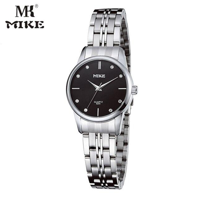 4eede43d0 Mk مايك بسيطة ووتش رجالي ساعات أعلى ماركة فاخرة wristwatch عشاق ووتش حجر  الراين ووتش relogio