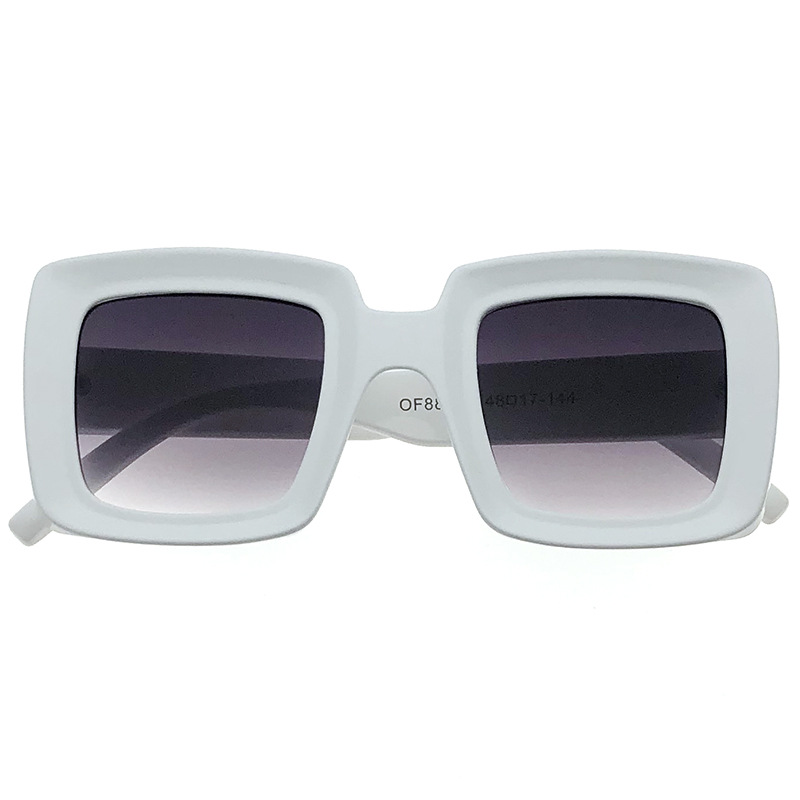 Fashion Retro Square Ladies Sunglasses New Luxury Comfortable Face Versatile Classic UV400