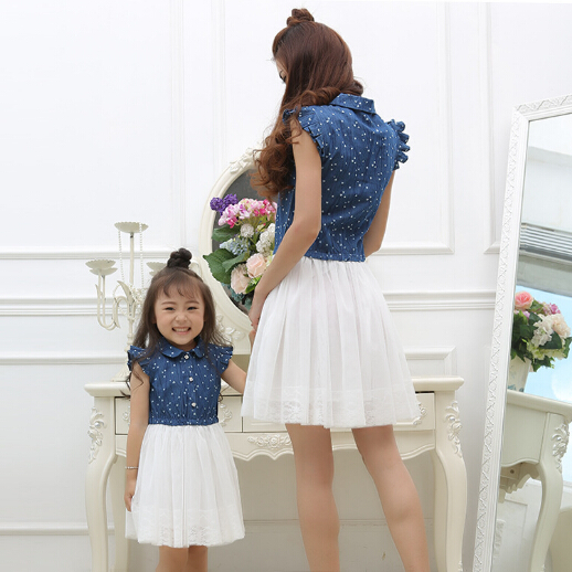 adsfay.com Mother-Daughter-Dress-Family-Matching-Clothes-Summer-Style-Mom-and-Daughter-Dresses-Family-Look-Clothing-Women.jpg
