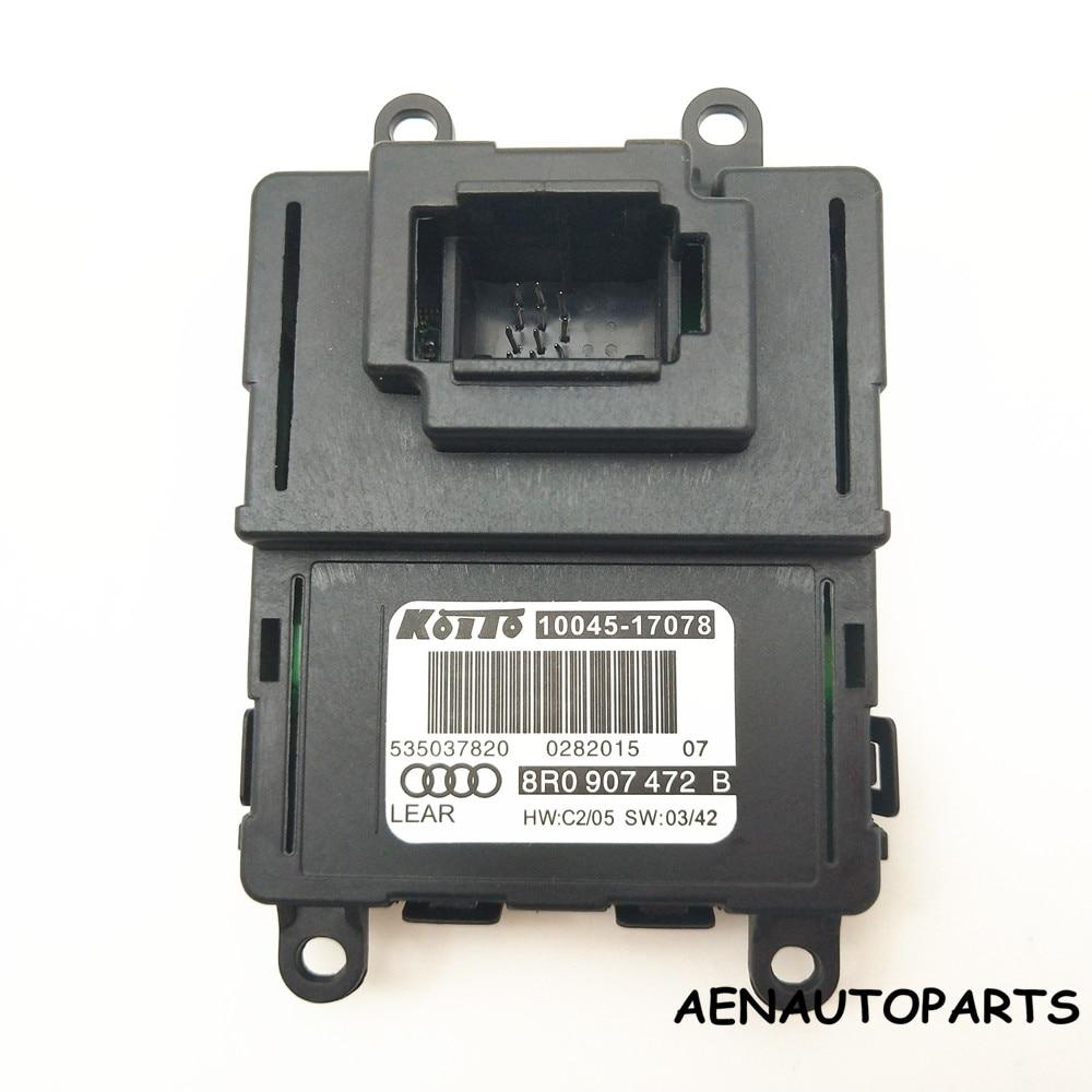 NEW Q5 LED Headlight OEM Control Unit LED Headlights DRL 8R0907472B 8R0 907 472 B 10045