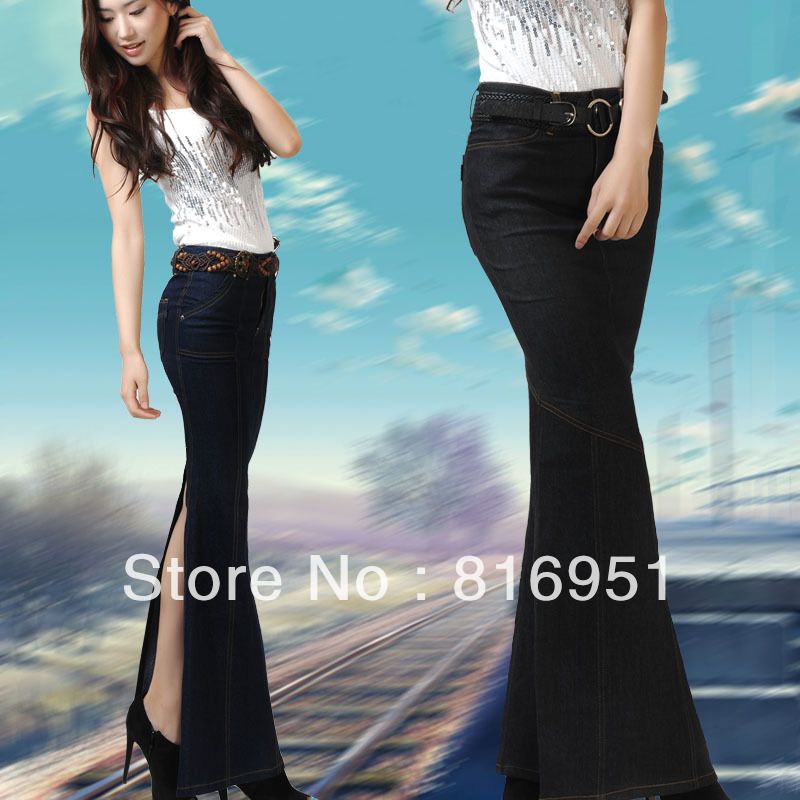 Women's Denim Skirts Long - Skirts