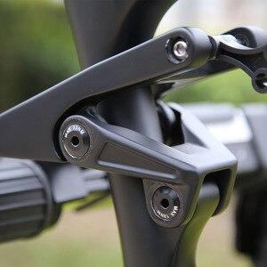 Image 4 - משלוח חינם 2019 27.5er 29er כל הרי אנדורו פחמן השעיה מלאה מסגרת אופני 148*12mm Boost MTB הר XC אופני 27.5 +