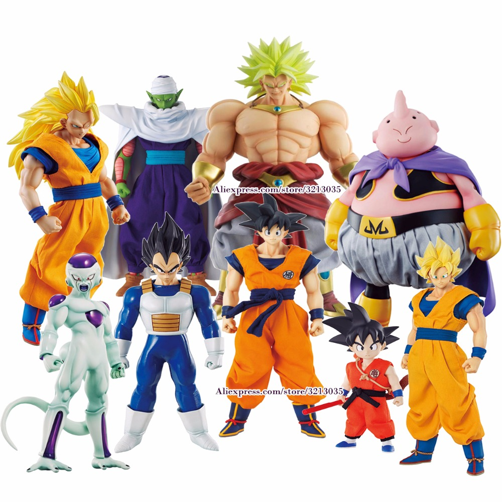 цены Anime Dragon Ball Z MegaHouse DOD Goku Action Figure Juguetes DragonBall Piccolo Vegeta Frieza Figures Collectible Model Toys