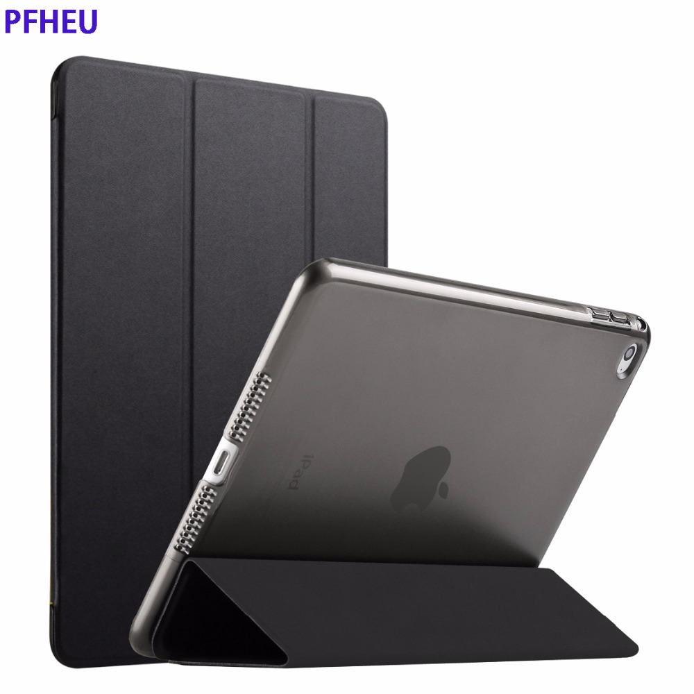 Case for iPad Air 2,Rubber Cover Ultra Slim Fit PU Leather Smart Case Rubberized Back Cover for iPad 6 for iPad Air 2 for iPad6