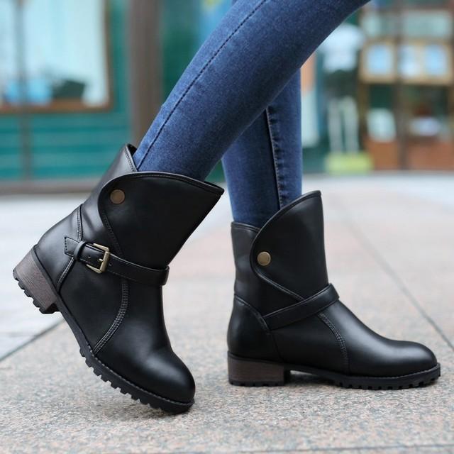 a57b6f8b60e1b zapatos de mujer botas bajas