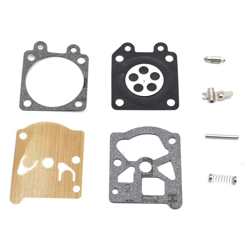 1SET RB-77 Walbro Carburetor Repair kit for Stihl 017 018 021 MS210 MS230 MS250 Chainsaw Spare Parts walbro replacement carburetor carb fit for stihl ms170 ms180 017 018 chainsaw carburettor walbro style