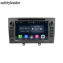 Octa Core 2 din 7″ Android 6.0 Car Radio DVD GPS for Peugeot 408 2007-2010 With 4GB RAM Bluetooth 32GB ROM USB Mirror-link