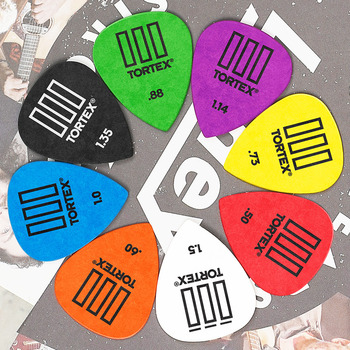 1PC Tortex TIII Plectrum Mediator Dunlop Guitar Picks Bass Acoustic Electric Accessories Classic Guitar Picks 0.5mm-1.50mm Picks dunlop guitar picks tortex tiii plectrum mediator bass acoustic electric accessories classic guitar picks 0 5mm 1 50mm picks