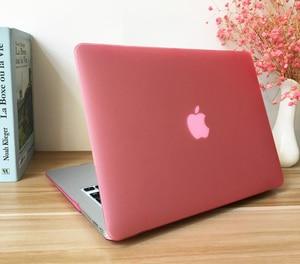 Матовая твердая прорезиненная крышка для Macbook Pro Retina 11 12 13 15 16 inchs Air 11 13 A2159 A1990 A2141