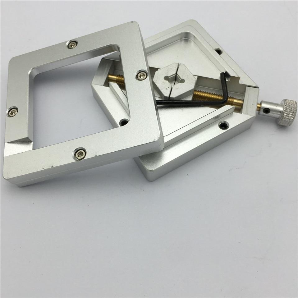 Original Factory Outlet Universal 80x80mm BGA Reballing Station Reball Jig Stencil Holder HT 80 Bga Reballing Station