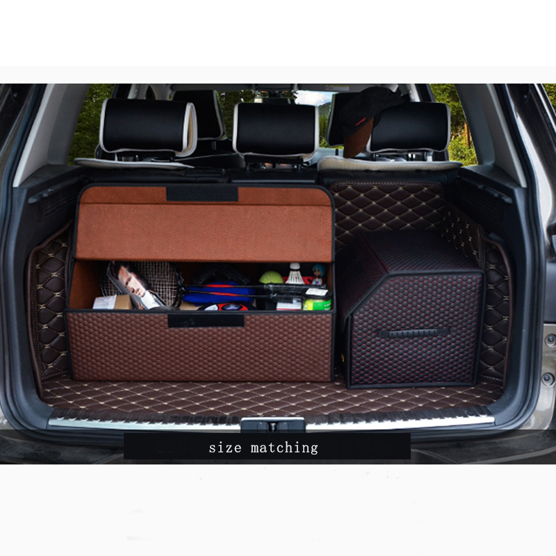 car trunk organizer storage box for Benz Ford toyota car boot foldable storage box for Auto Trunk цена