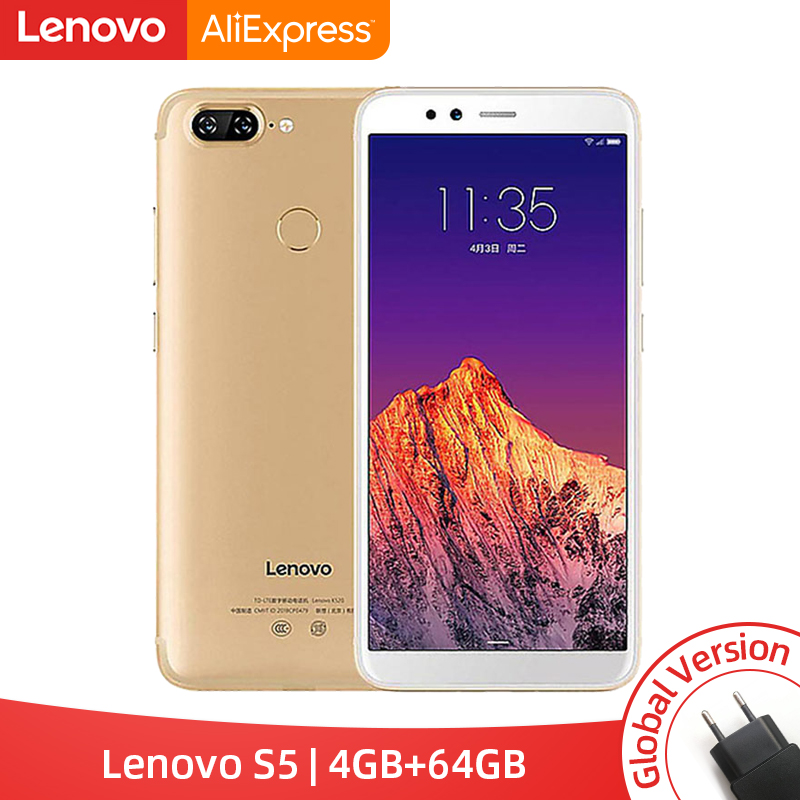 Global Version Lenovo S5 K520 4GB RAM 64GB ROM Smartphone Snapdragon 625 Octa core Dual Rear