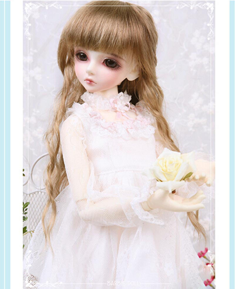 2018 New Arrival 1/4 Bjd Doll For Sd Lovely Resin With Makeup For Baby Girl Birthday Present 2018 New Arrival 1/4 Bjd Doll For Sd Lovely Resin With Makeup For Baby Girl Birthday Present