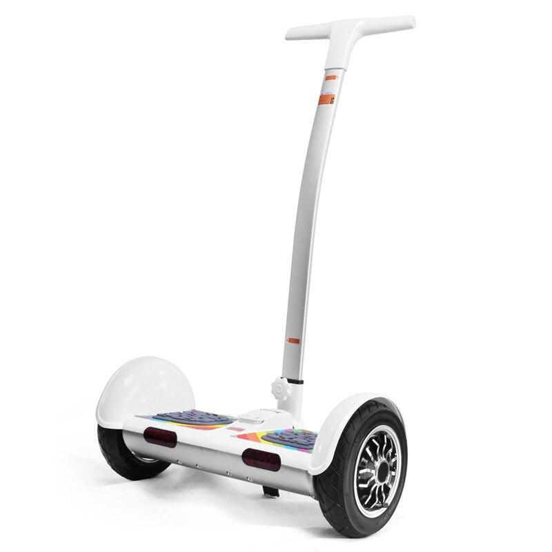10 pouce 2 Roues Électrique Scooter avec La Main Smart Balance Dérive Hoverboard SUV Auto Équilibrage Conseil Scooters Oxboard Par-Dessus Bord