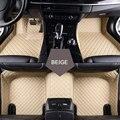 Ajuste personalizado esteras del piso del coche para Peugeot 206 207 2008 301 307 308sw 3008 408 508 rcz coche que labra alfombra piso de línea
