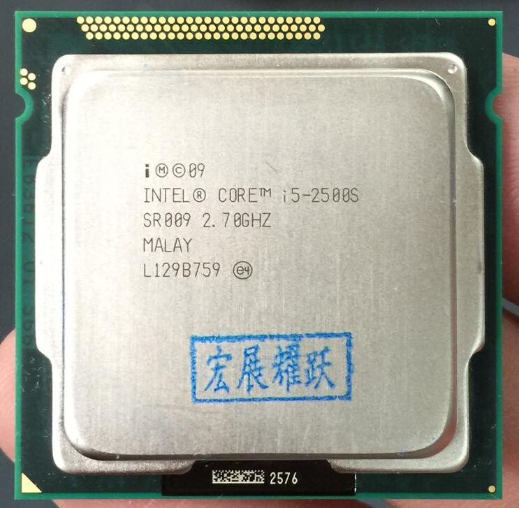 Intel Core i5 2500S  i5 2500S Processor (6M Cache, 2.7 GHz) LGA1155 PC Computer Desktop CPU-in CPUs from Computer & Office    1