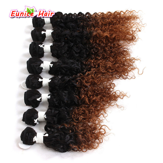 New Style Ombre Burgundy 1b2730 Brazilian Curly Hairpiece Jerry