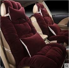 Juego de cojines de asiento de coche cubiertas de automóviles para Ford Fusion Explorador Windstar Escapar MAVERICK Focus Mondeo Fiesta Peugeot 307/3008/308/407