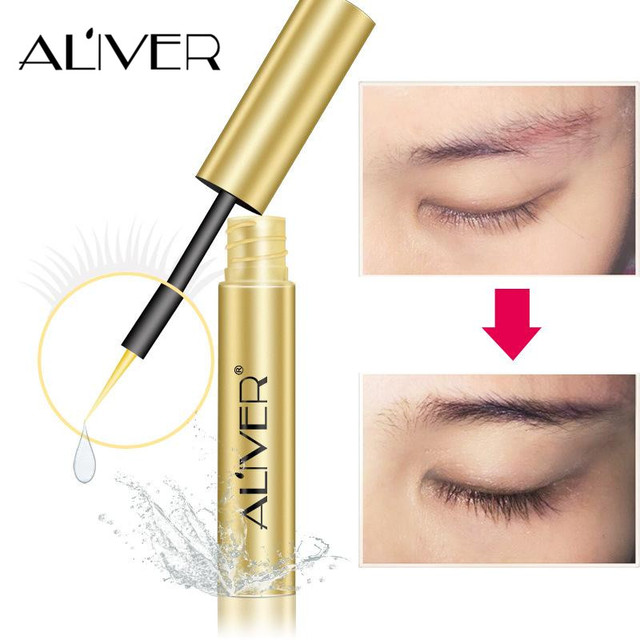 4ed0668c77d ALIVER Most Effective Asia's Eyelash Growth Serum Oil Natural Extract  eyelash growth treatment liquid wenkbrauw serum eye lashes