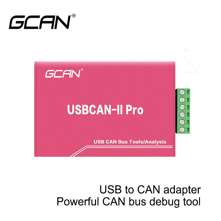 2 Channel USB-CAN Adapter CAN Bus Analyzer For BMS,  Usb To Can Adapter Support CANopen, J1939, ISO 15765 Protocol, DBC Files