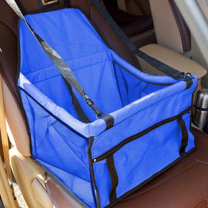Folding Pet Dog Cat Car Seat Bag Carriers Pet Carrier Safety Mesh Dog Car Seat Protector Dog Mat Blanket