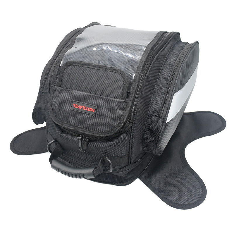 ФОТО MOTRAVEL Nylon 4 Pockets Magnetic motorcycle saddle sports bag travelling bag tank bag tail box waterproof motorcycle backpack