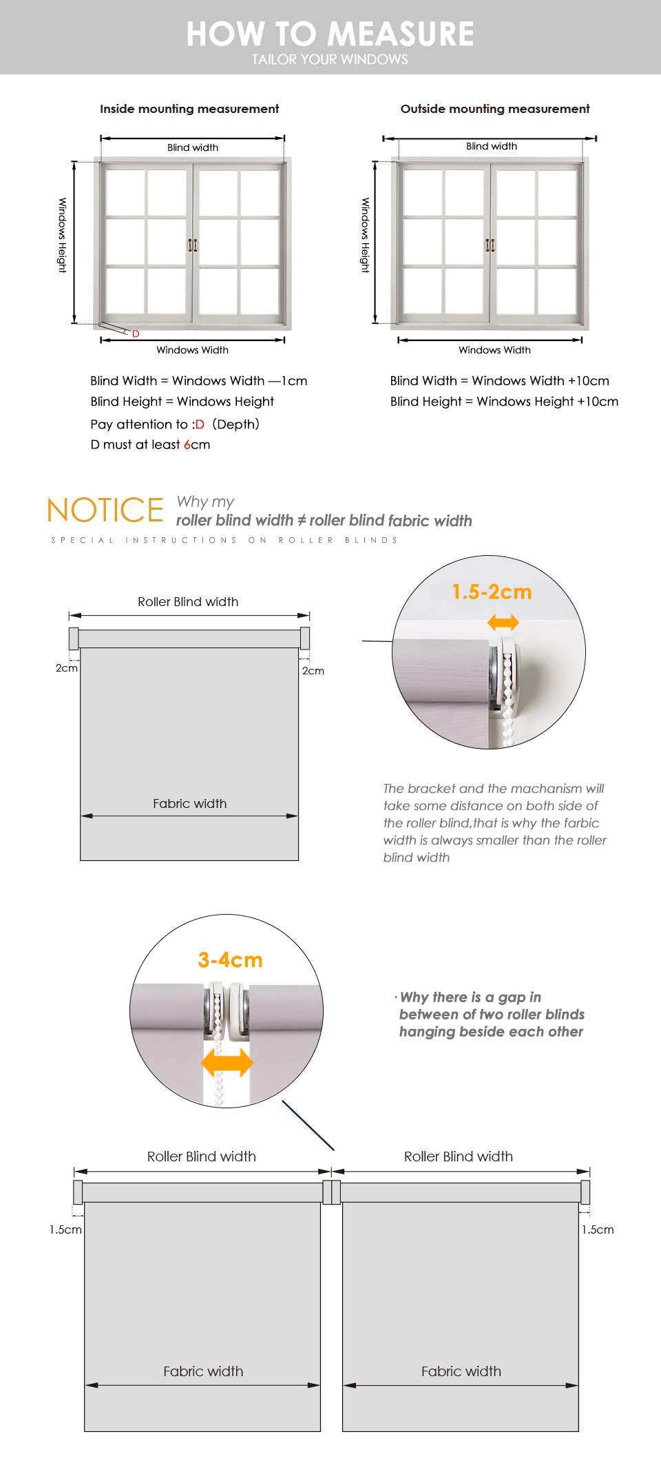 window blind sizes standard size schrling 2018 38mm thick alum tube waterproof blackout roller blinds fire retardant for shower room window customized size