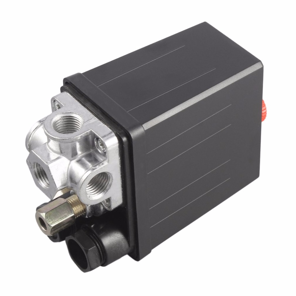 New Arrival Heavy Duty 240V 16A Auto Control Auto Load/Unload Air Compressor Pressure Switch Control Valve 90 PSI -120 PSI new 90 psi 120 psi air compressor pressure control switch valve heavy duty g205m best quality