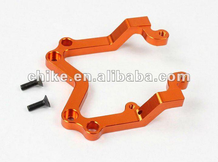 1/5 Baja Cnc Alloy Rear U Shape Holder For 1/5 Scale Hpi Km Rv Baja 5b 95088