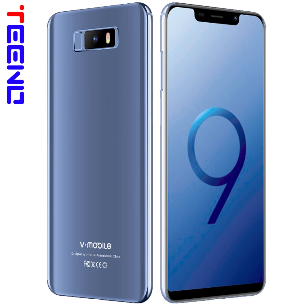 "TEENO Vmobile Note 9 Mobile Phone Android 7.0 5.84""19:9 Full Screen 3GB+32GB 13MP Camera 3800mAh Unlocked Quad Core Smartphone"