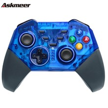 ASKMEER 1 pc/2 pc Bluetooth wireless Pro controller gamepad joypad remote control for console switch Nintendo joystick