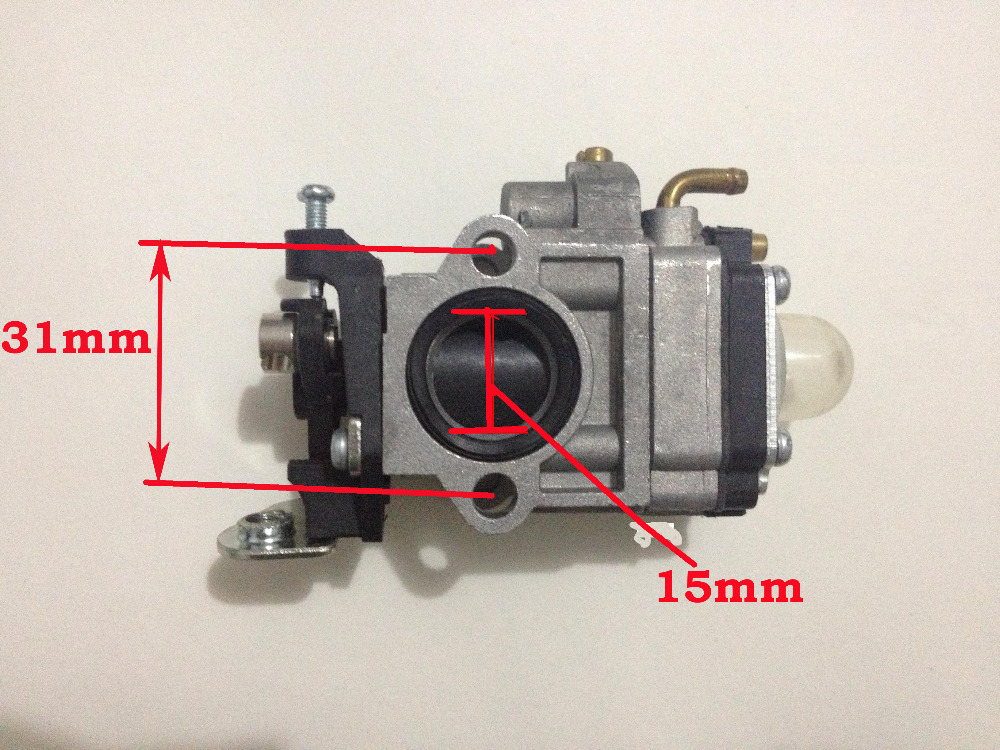 Gasoline Brushcutter Carburetor Carb For CG430/520 Trimmer spare parts 40-5/44-5,43cc/47cc/49cc/52cc (Best quality ) robin rgv6100 eh34 carburetor gasoline enigine parts mikuni carb