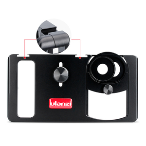 Image 3 - Ulanzi U Rig Metal Handheld Photo Phone Video Rig Gear Vlogging Rig Stabilizer with Wide Angle Mobile Lens Film Making Case