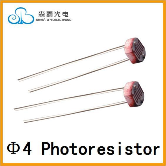 4mm CdS Photoconductive Cells/Photoresistor /LDR Sensor /Light ...